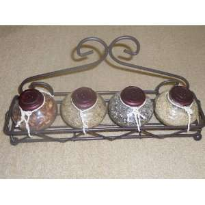 Wrought Iron Decorative Spice Rack (non edible)