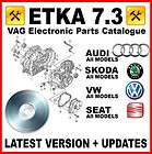 VW ETKA Interactive Service Manual ELECTRONIC PARTS CATALOGUE 2011 EPC