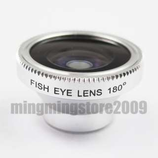 180 Degree Fish eye Wide Angle Lens Phone Camera 1127 813789010654