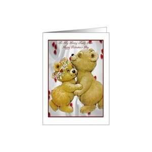 Valentines Day Card For My Loving Teddy Bear Card Health