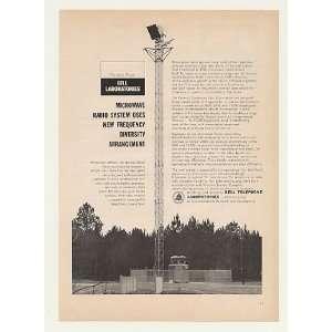 Microwave Radio Antenna Tower Print Ad (43810): Home & Kitchen