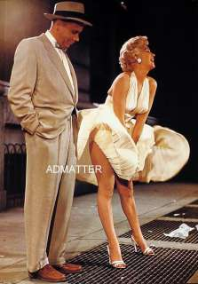 Marilyn Monroe Pin up Poster 7 Year Itch Dress Way up